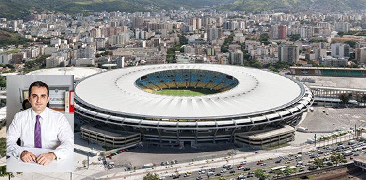Dünya kupası yeşil stadyumlarda oynanıyor