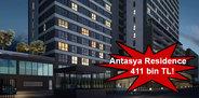Antasya Residence satış fiyatları!