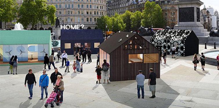 Trafalgar Meydanı bu evlerden geçilmez