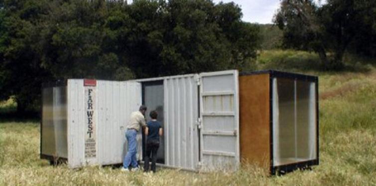 Şehir hayatından uzaklaşmak isteyene konteyner ev!