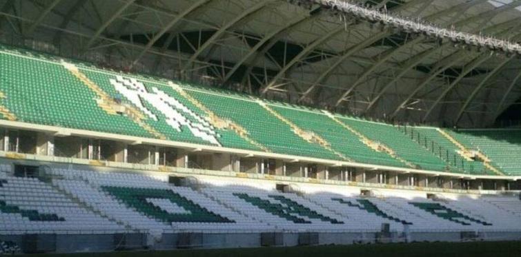 Konya stadyumu bitiyor