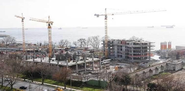 Ataköy inşaatlarının ruhsatı iptal edildi