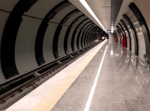 Aksaray Yenikapı metrosunda ilk test sürüşü için geri sayım başladı