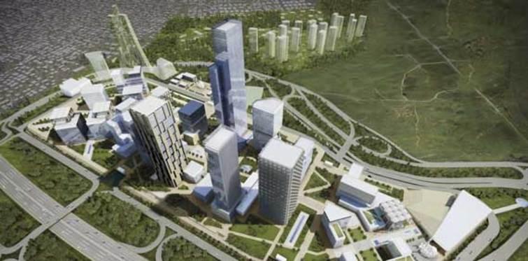 İstanbul Finans Merkezi tüm hızıyla sürüyor