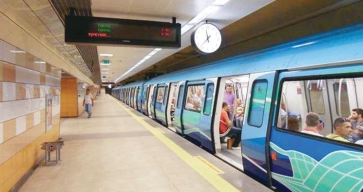 Aksaray Yenikapı metro hattı Ekim'de açılıyor