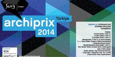 Archiprix Türkiye 2014 Başlıyor