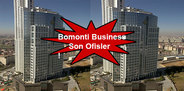 Bomonti Business Center'da son ofisler!