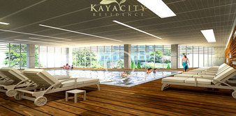 Kaya City Residence'da tapular hemen teslim