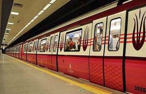 Aksaray Yenikapı metrosunun test sürüşleri devam ediyor