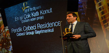 Pendik Cebeci Residence hangi ödülü aldı?