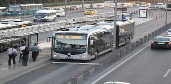 34BZ ve 34AS Metrobüs durakları