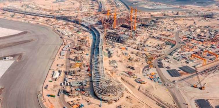 Havalimanı inşaatında dünya birincisi: TAV
