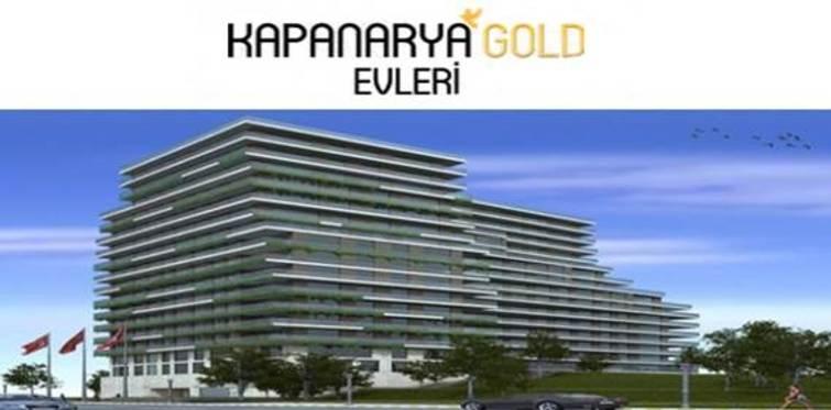 Kapanarya Gold Evleri projesi!