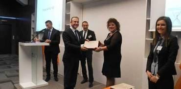 Aktaş Holding'e 'iş güvenliği ödülü'