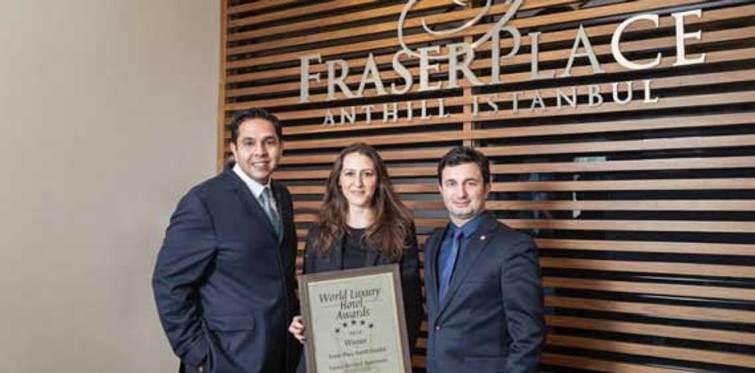 Fraser Place Anthill'e ödül