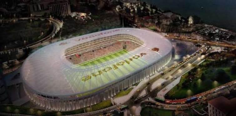 Vodafone Arena'nın açılışı ne zaman?