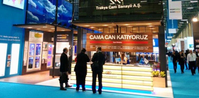 Trakya Cam yeni ürünleriyle Yapı Fuarı'nda