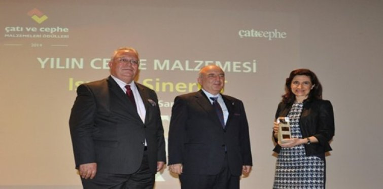Trakya Cam 'Yılın Cephe Malzemesi'   ödülünün sahibi oldu