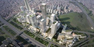 İstanbul Finans Merkezi'nin temelleri atıldı