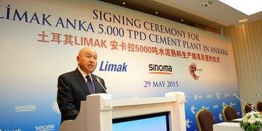 Limak'tan Ankara'ya 155 milyon dolarlık yatırım