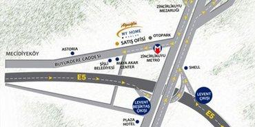 Ağaoğlu My Home Maslak adres bilgileri