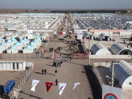 Türkiye'deki mülteci kampları nerede?