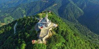 Karadenizin en yüksek camisi: Kıble Dağı Camii