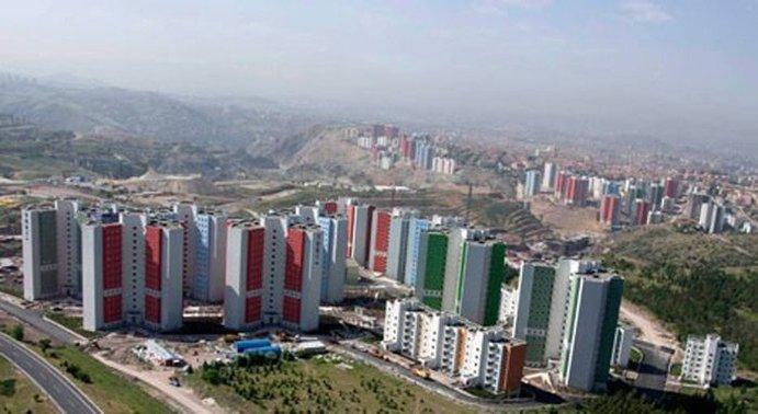 TOKİ'den Ankara'ya toplam 826 yeni konut geliyor!