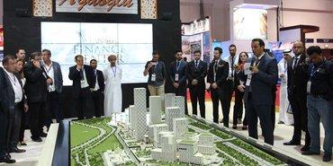 Ağaoğlu Dubai'de İstanbul Finans Merkezi'ni tanıttı