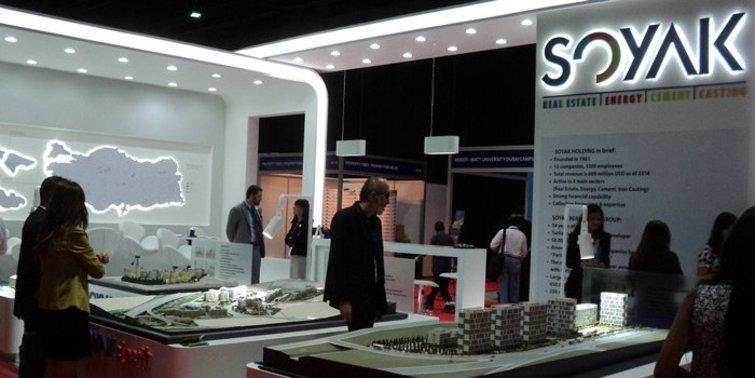 Soyak Dubai'de Kuzey Bahçeşehir'i sergiledi