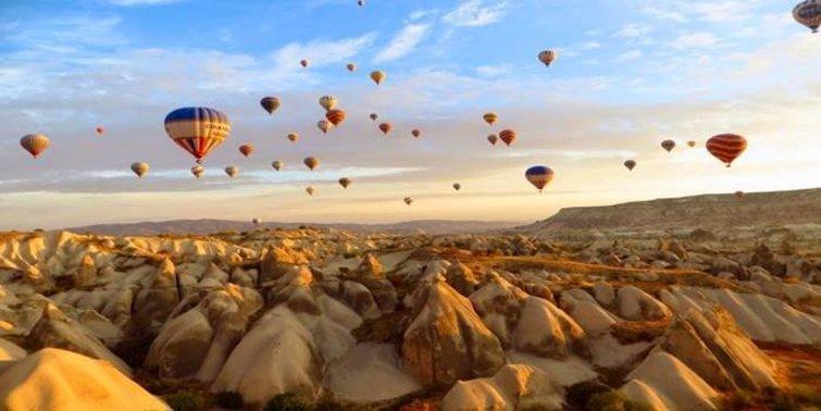 Anadolu'nun Büyüleyici Güzelliği Kapadokya