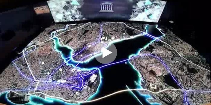 Yaşayan İstanbul Maketi Emlak Fuarı'nı büyüleyecek