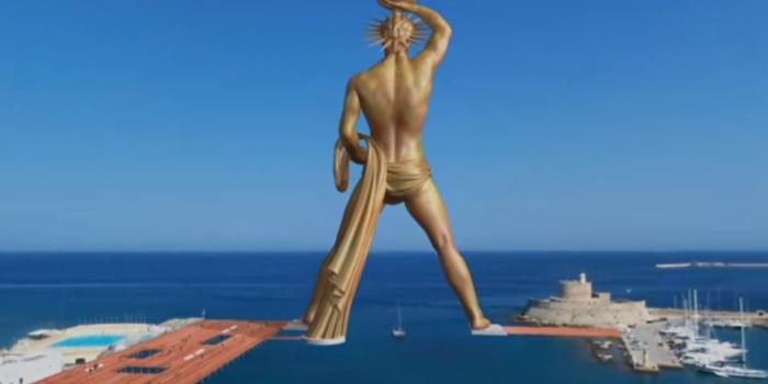 Rodos Heykeli yeniden mi yapılıyor?