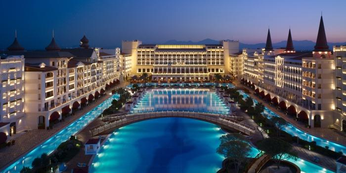 Mardan Palace Hotel Suudi Kral'ı ağırlayacak