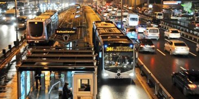 34g metrobüs hattı