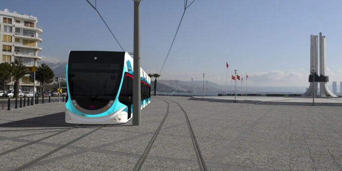 Karşıyaka konak tramvay hatları güzergahı