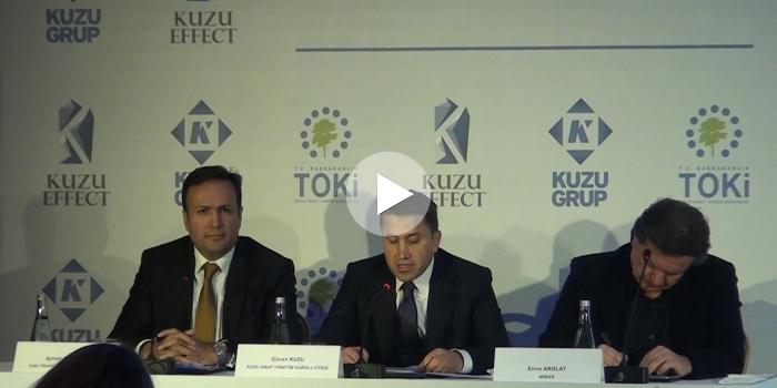 Kuzu Effect ve Kumru Ankara basın toplantısı