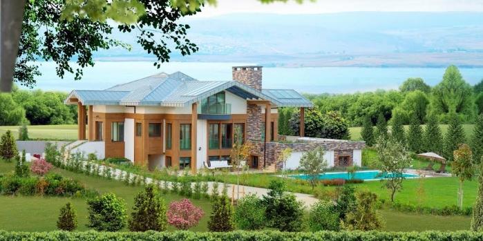 Valle lacus villaları