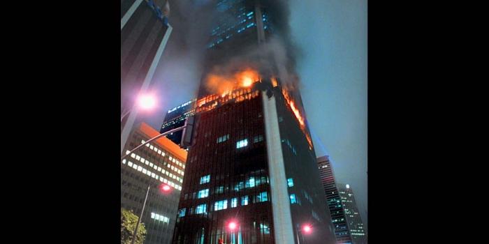 Dev binalarda yangınları önleyecek buluş