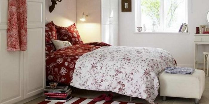 Küçük odalar için yatak odası