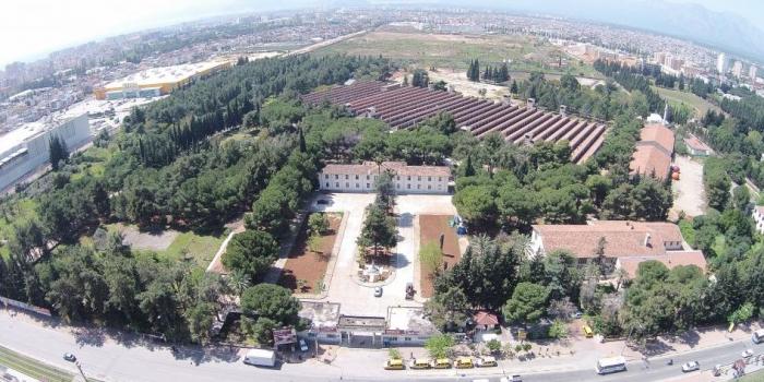 Antalya dokuma fabrikası kent parkı