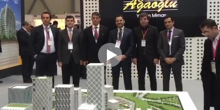 Ağaoğlu, projeleriyle Bakü Emlak Fuarı'nda