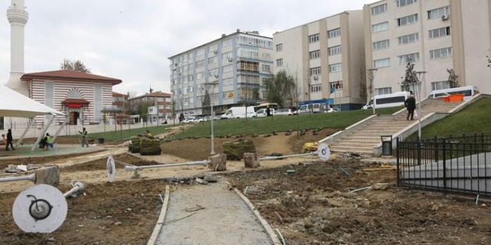Güngören park yenileme çalışmaları