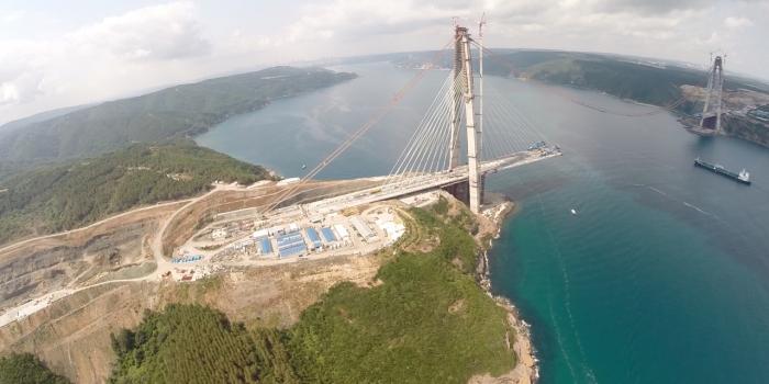 Üçüncü Köprü Mayıs ayında açılacak