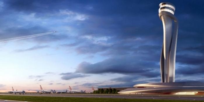 3. Havalimanı'na ironik sembol: Lale biçimli kule