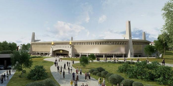 Dev Atina Stadyumu için kaynak bulundu