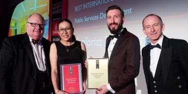 Renda Helin Design&Interiors dünyanın en iyisi ödülünü aldı