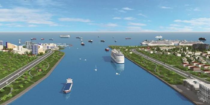 Kanal istanbul inşaatı