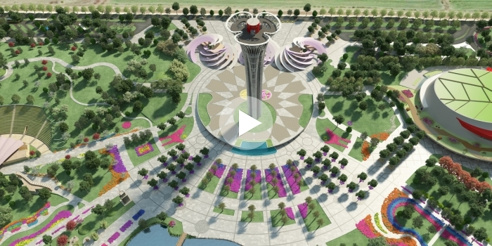 Expo Kule Seyir Terası böyle inşa edilecek