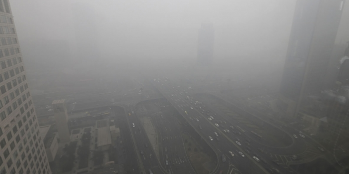 Büyük şehirlerde hava kirliliği